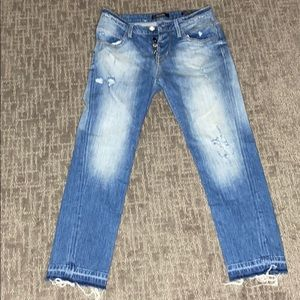 Guess Vanille Relaxed Low Jeans